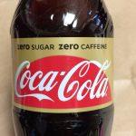 【5秒で読める】コカ・コーラ ゼロカフェインを画像を多様して全力で詳しく紹介してみた。味の感想もあるよ。
