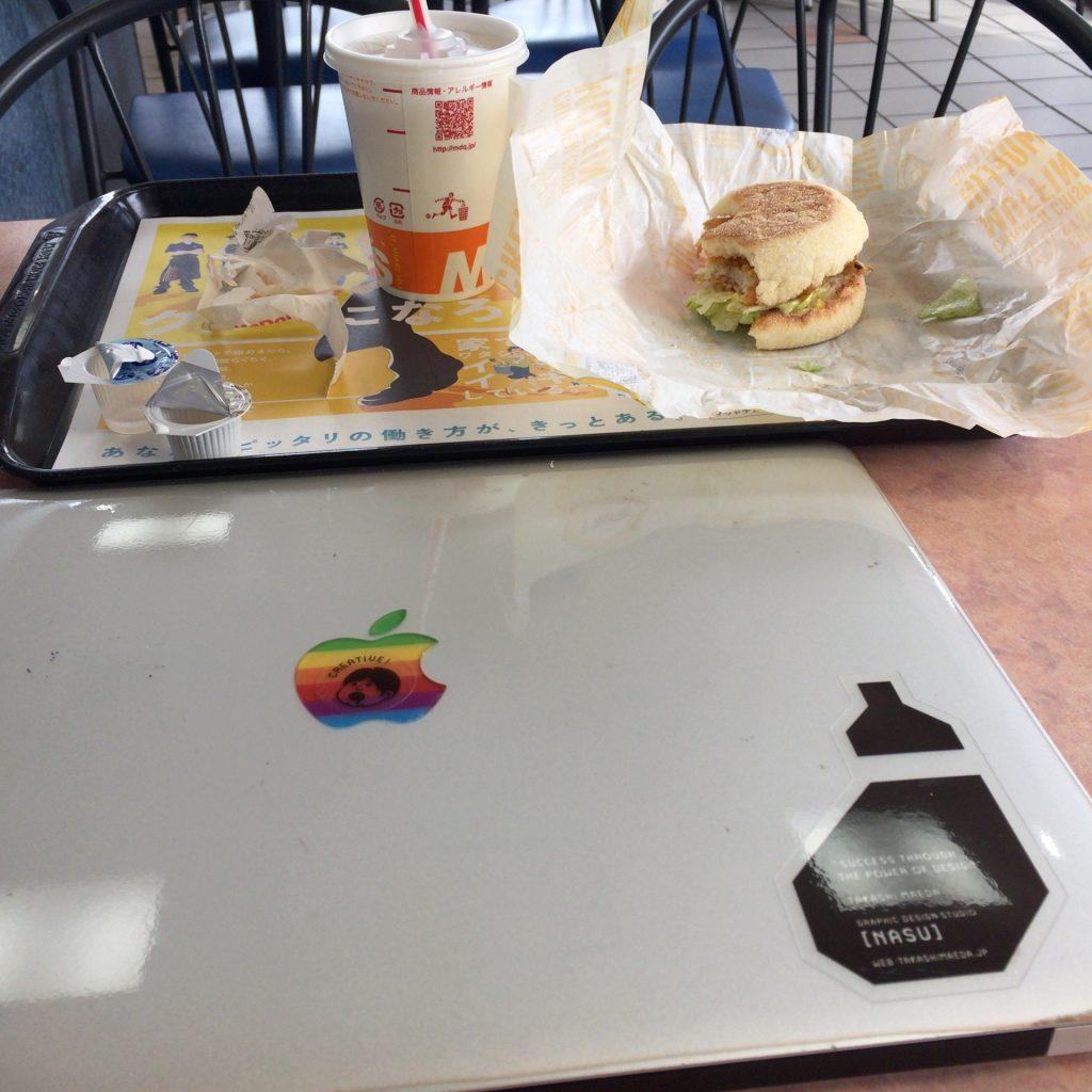 朝マックのコンビは予想以上におすすめだよ。 朝ごはんはマクドナルドへGO!