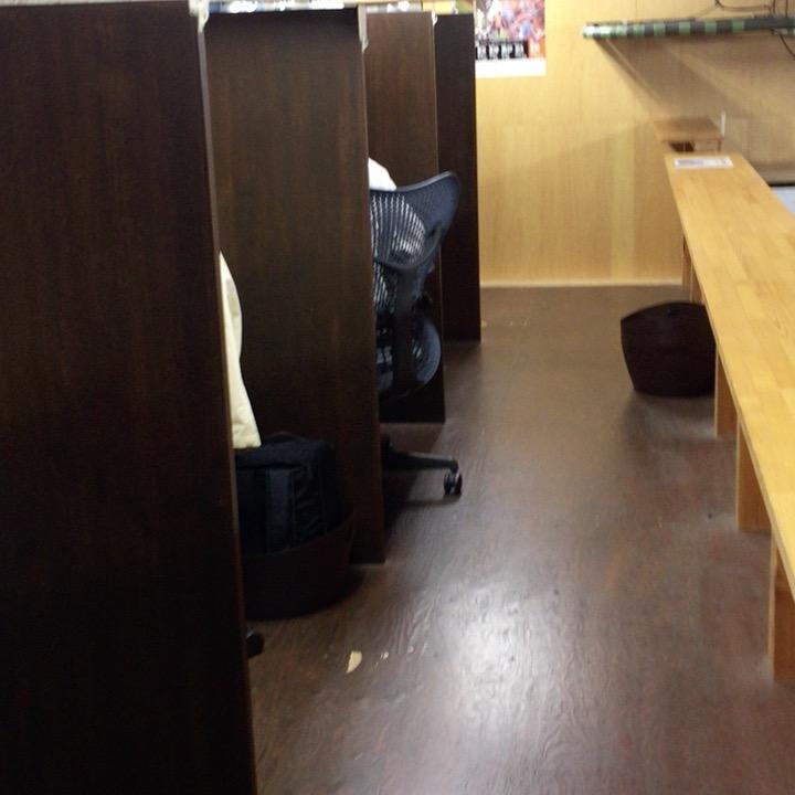 コワーキングスペース7Fナナエフの店内の様子