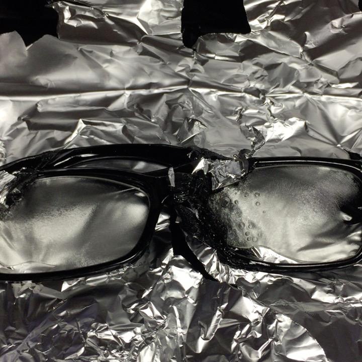 ホットサンドメガネを作ってみた