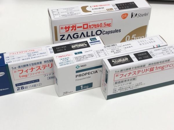AGA治療の内服薬